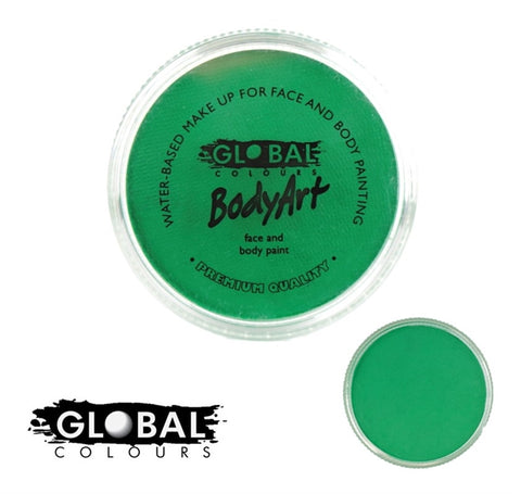 Global Body Art Face Paint - Standard Fresh Green 32g