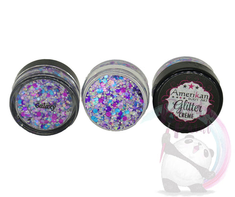 Galaxy Glitter Creme (7g) Amerikan Body Art