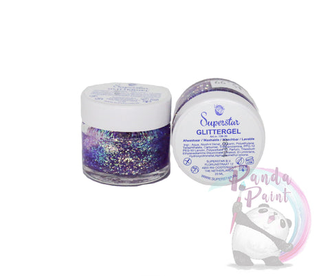 Superstar Glitter Gel - Light Purple