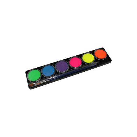 TAG Neon Palette (6 Colors) Face and Body Paint