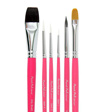 Paint Pal Classic Brush Collection (6 Brush Set)