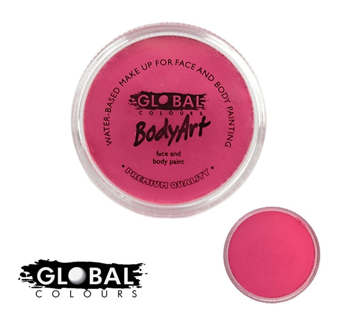 global pink face paint