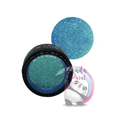 Iridescent Blue Body Glitter - Wolfe - 6g Jar
