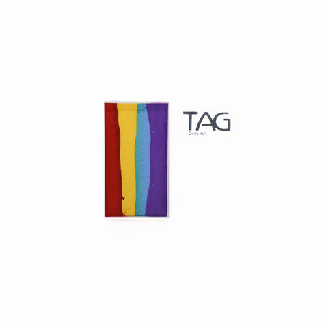 TAG Rainbow (4 color) 1 Stroke Split Cake 30g