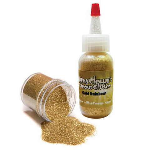 Gold Rainbow - Mama Clown Glitter - 1oz Jar