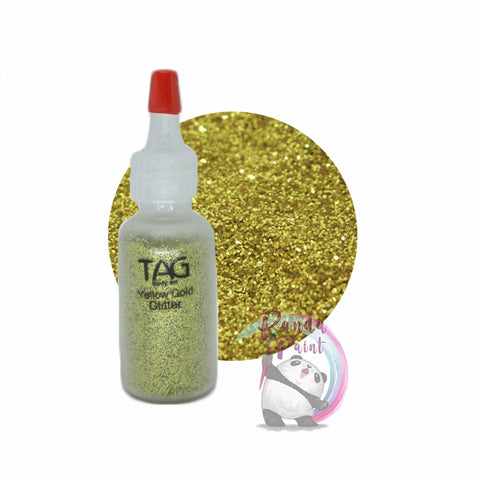 TAG Yellow Gold Glitter 15ml (12g) Puffer Bottle