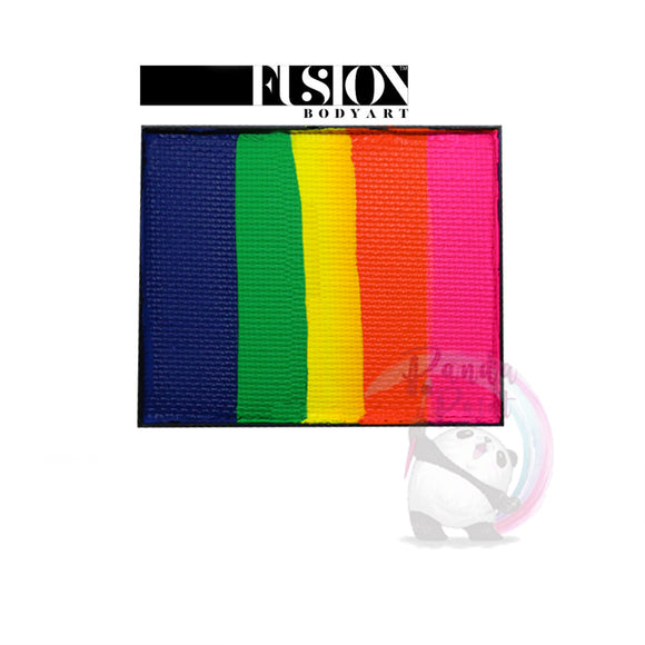 Fusion Body Art - Neon Rainbow Base Blender 50g