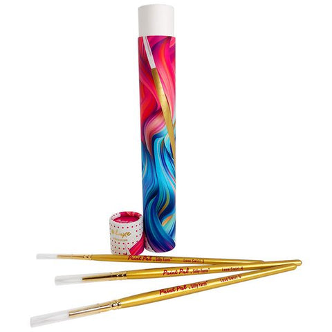 Paint Pal Luxe Brush Collection (3 Gold Brush Set)