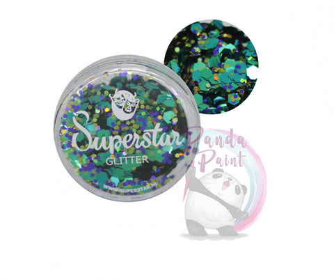 Superstar Loose Glitter - Peacock Chunky Mix