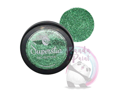 Cosmetic Bio-Glitter Fine Spring Green 6 ml Jar