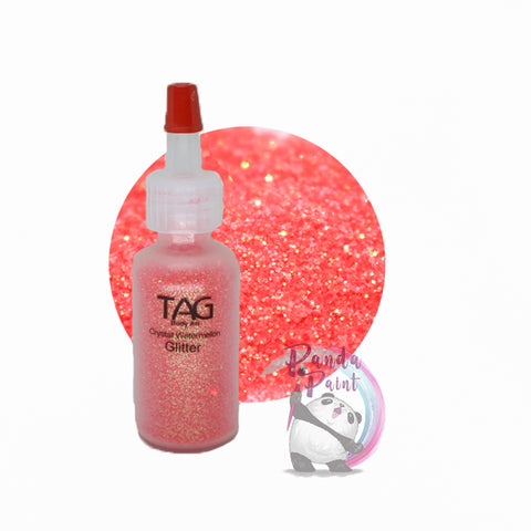 TAG Crystal Watermelon Glitter 15ml (12g) Puffer Bottle