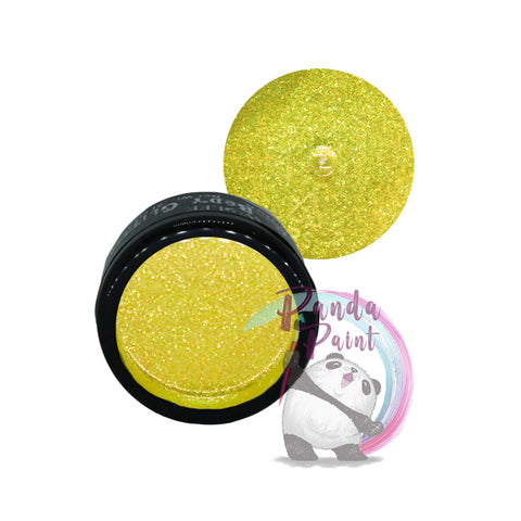 Iridescent Yellow Body Glitter - Wolfe - 6g Jar