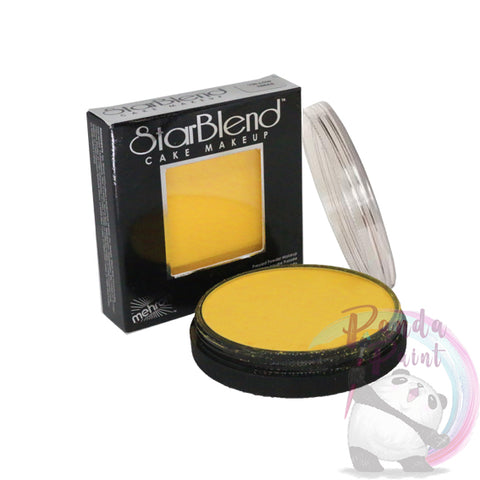 Mehron Starblend Powder Face Paint - Yellow 56g