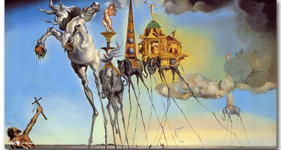 Salvador Dali HorseDiamond Painting Kit - DIY