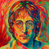 John Lennon Colors Diamond Painting Kit - DIY