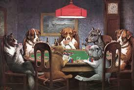Dogs Poker Diamond Painting Kit - DIY