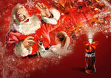 Santa Christmas Fresh Diamond Painting Kit - DIY
