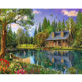Cabin Like Diamond Painting Kit - DIY