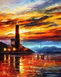 By The Lighthouse 4 Diamond Painting Kit - DIY