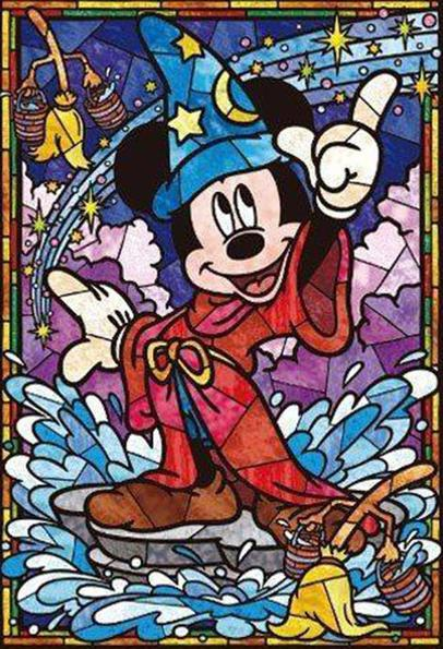 Mosaic Mickey Magic Diamond Painting Kit - DIY