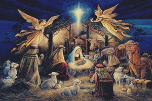 Nativity New Love Diamond Painting Kit - DIY