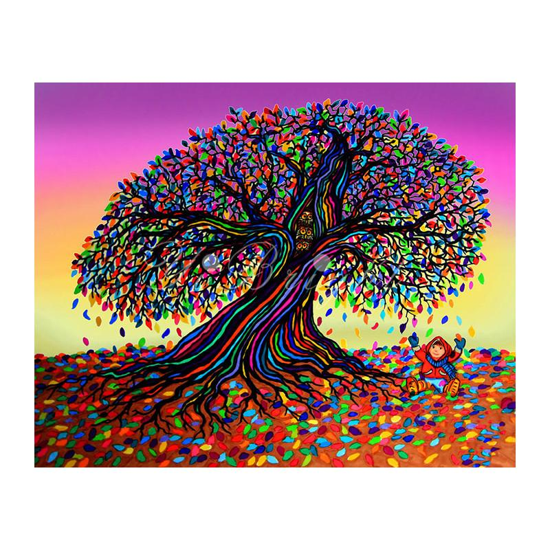 Tree Rainbow Diamond Painting Kit - DIY