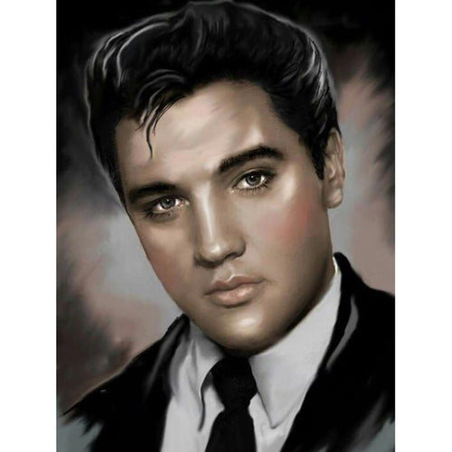 Elvis Presley Caricature Diamond Painting Kit - DIY