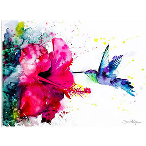 Hummingbird Of Rhinestones Diamond Painting Kit - DIY