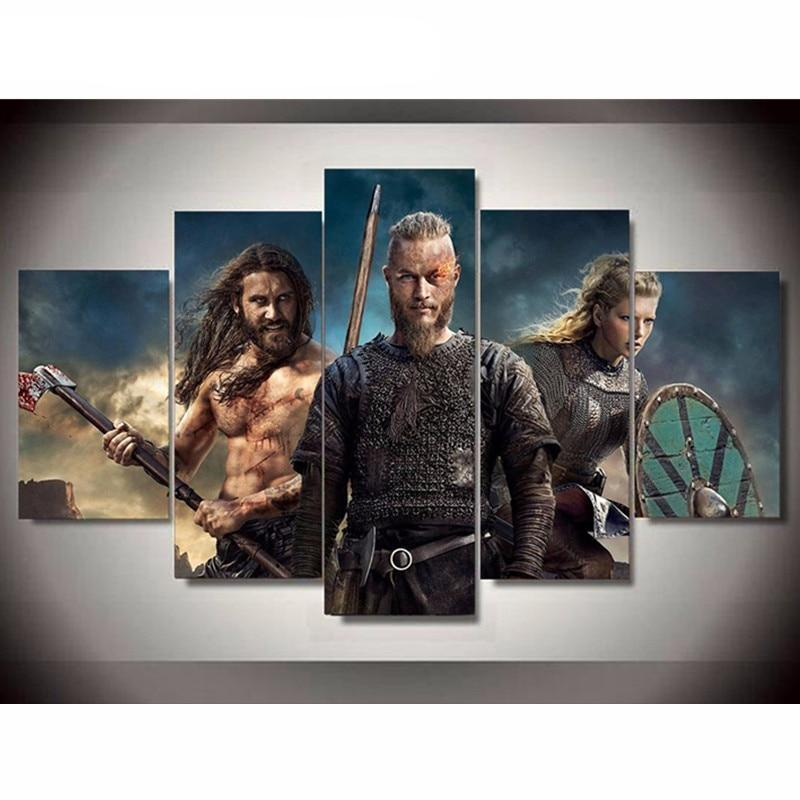 Vikings 3D Diamond Painting Kit - DIY