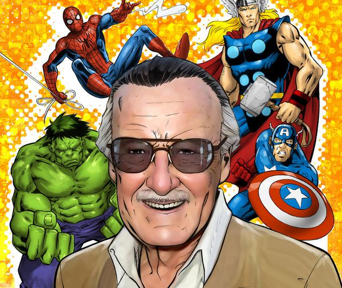 Comics Stan Lee Diamond Painting Kit - DIY