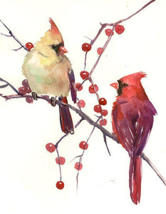 Cardinal Artist Diamond Painting Kit - DIY