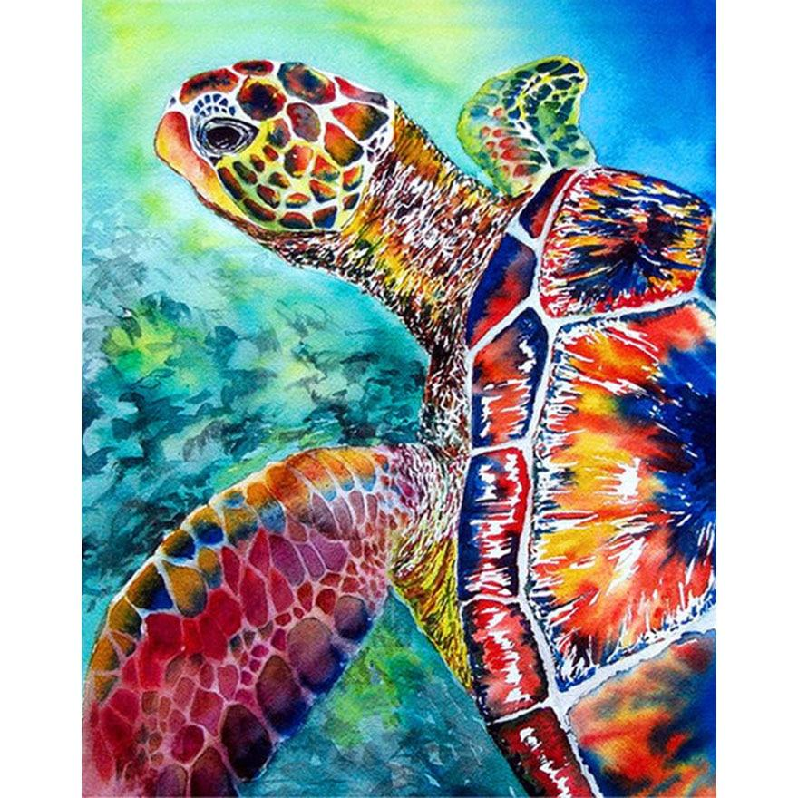 Turtle Diamond Painting Kit - DIY – Diamond Painting Lovers