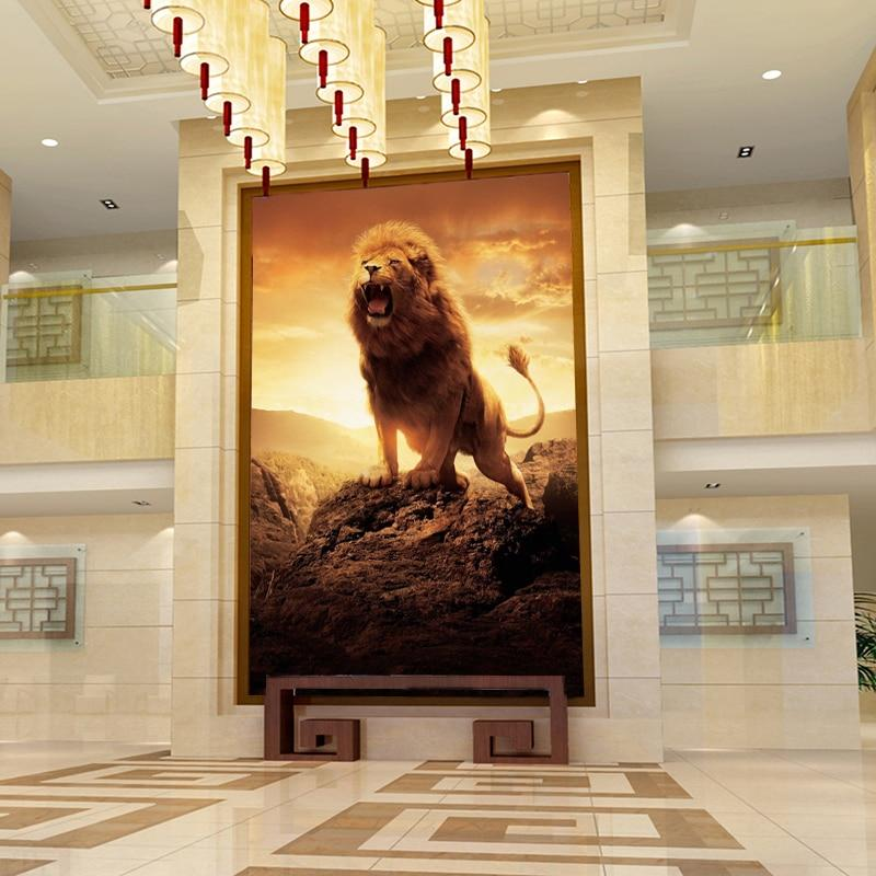 Lion Diamond Painting Kit - DIY