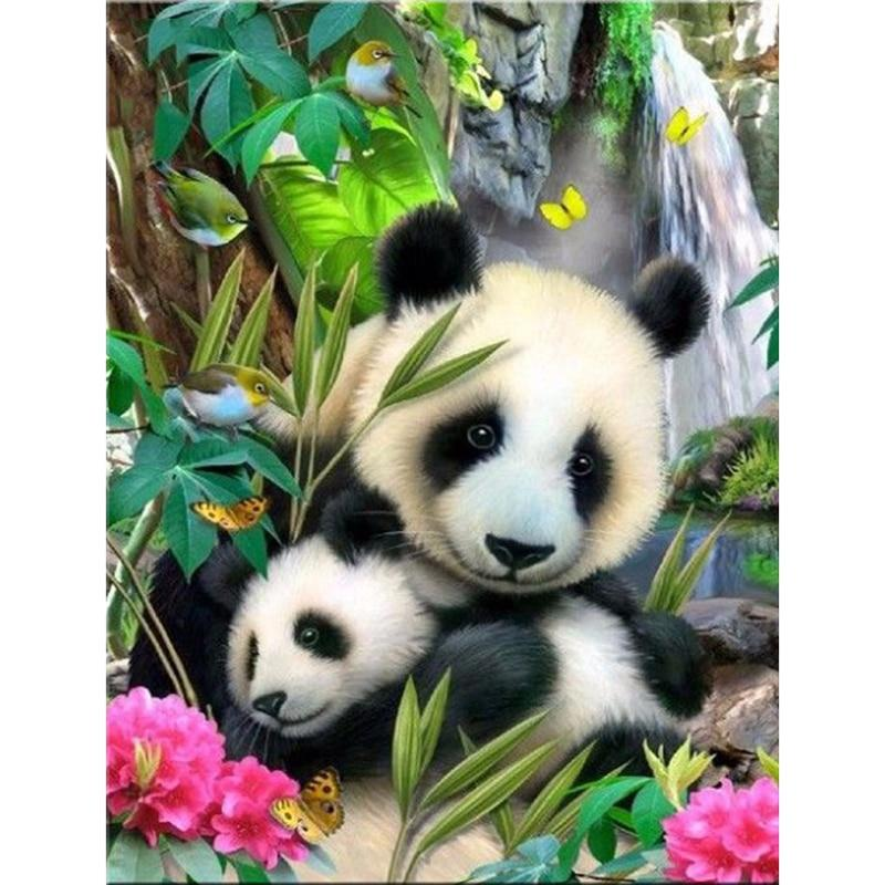 Panda Diamond Painting Kit - DIY