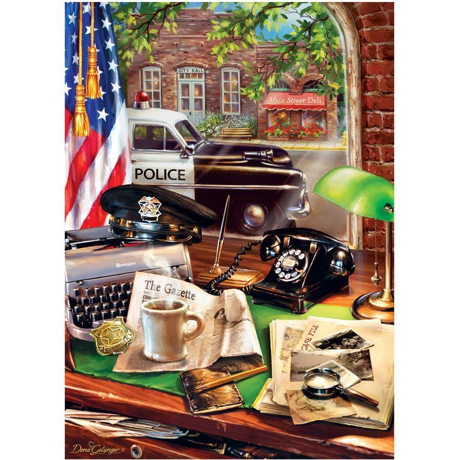 Police Car Diamond Painting Kit - DIY