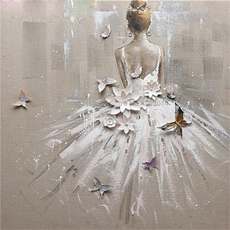 Ballet Girl Diamond Painting Kit - DIY