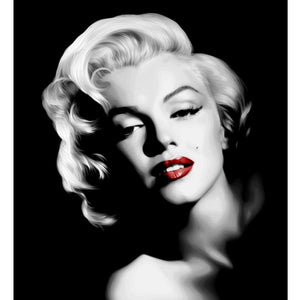 Marilyn Monroe Red Diamond Painting Kit - DIY