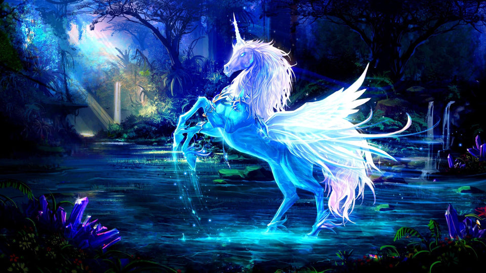 Unicorn Special Colors Diamond Painting Kit - DIY