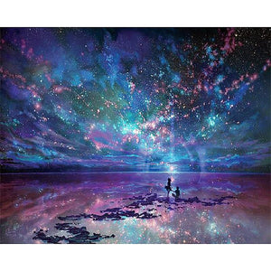 Fantasy Star Ocean Diamond Painting Kit - DIY