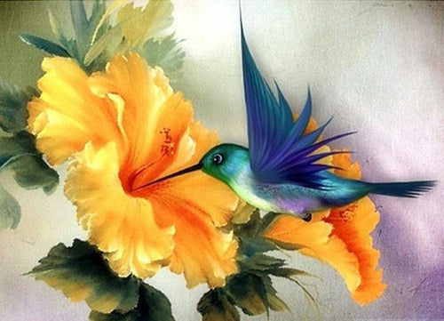 Animal Hummingbird Diamond Painting Kit - DIY