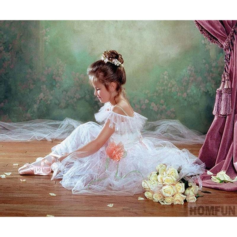 Girl Ballet Diamond Painting Kit - DIY
