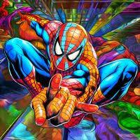 Spiderman Colorsfull Painting Kit - DIY