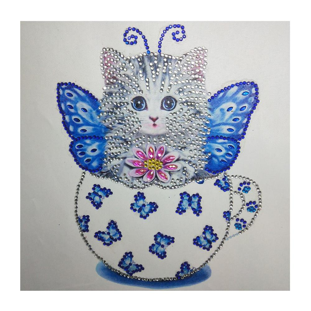 Special Shaped Cat Cute Diamond Painting Kit - DIY