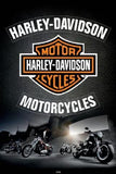 Harley Motorcycle Diamond Painting Kit - DIY