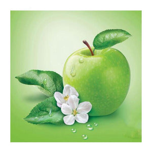 Green Apple Diamond Painting Kit - DIY