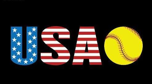 Softball USA Team Diamond Painting Kit - DIY
