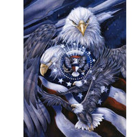 Eagle Icon Diamond Painting Kit - DIY
