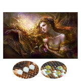 Special Shaped Beauty Lady Diamond Painting Kit - DIY