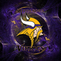 Minnesota Vikings Color Diamond Painting Kit - DIY