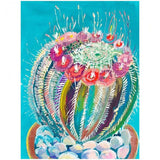 Watercolor Cactus Diamond Painting Kit - DIY